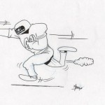 American footbal cartoon 1