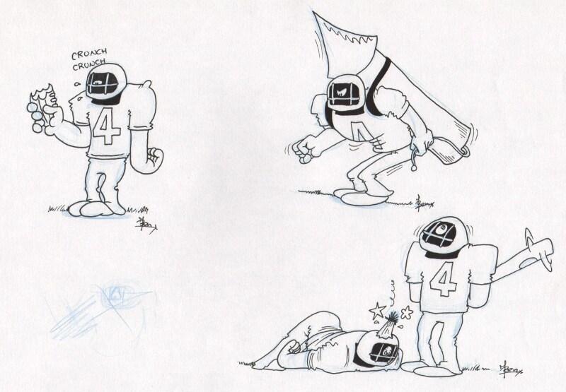 American footbal cartoon 5