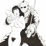 Betty Page and Jason Voorhees