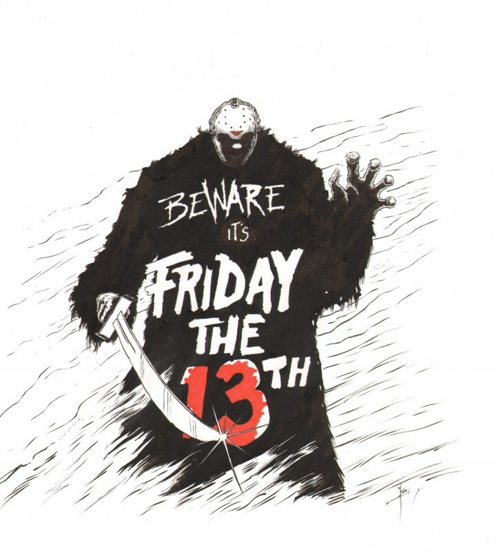 Beware it's friday the 13th