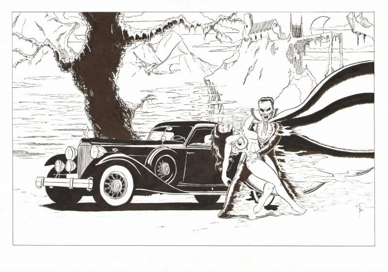 Dracula's ride