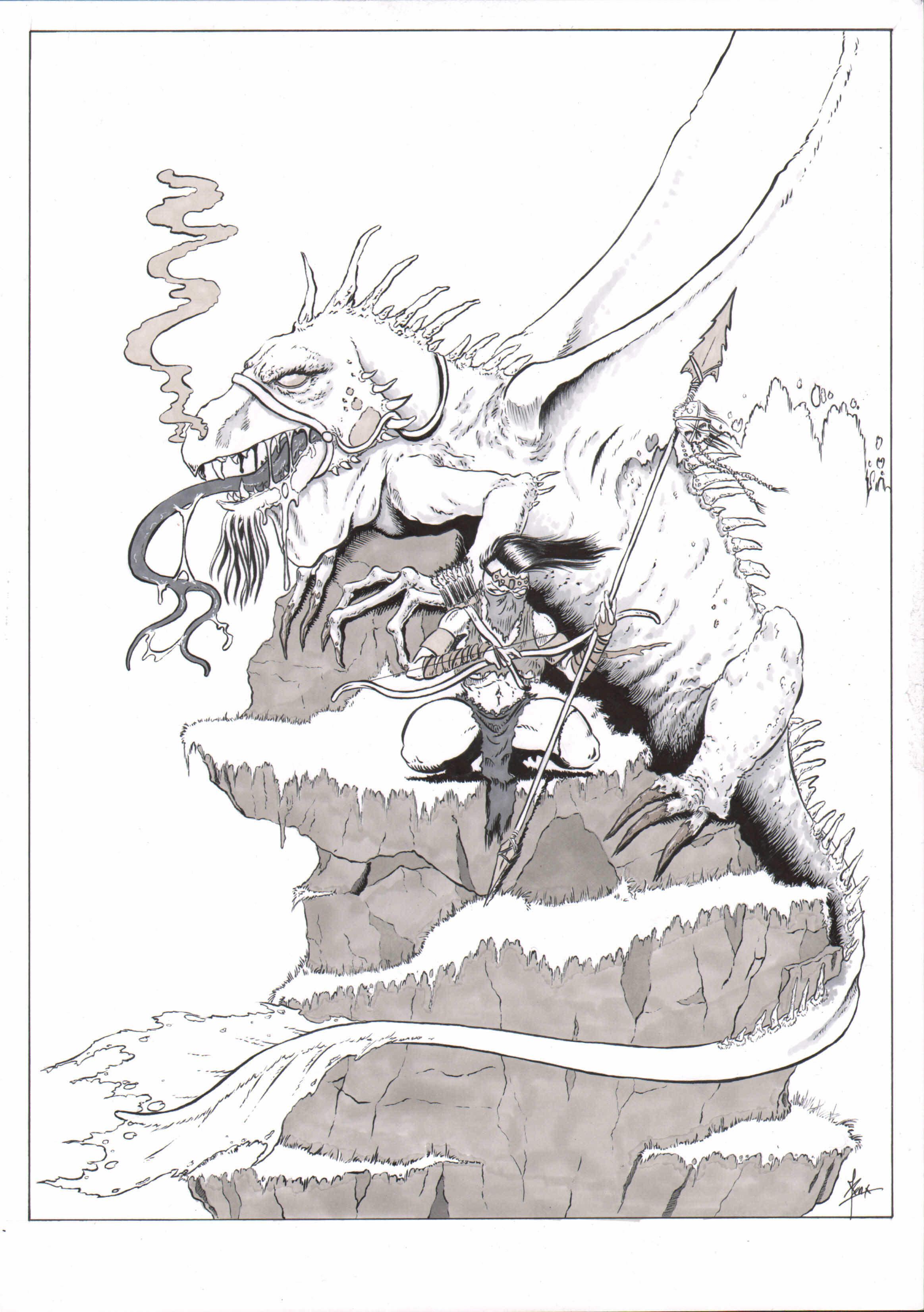 Dragon & his Rider