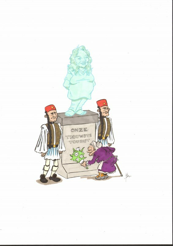 Els van der Berg cartoon
