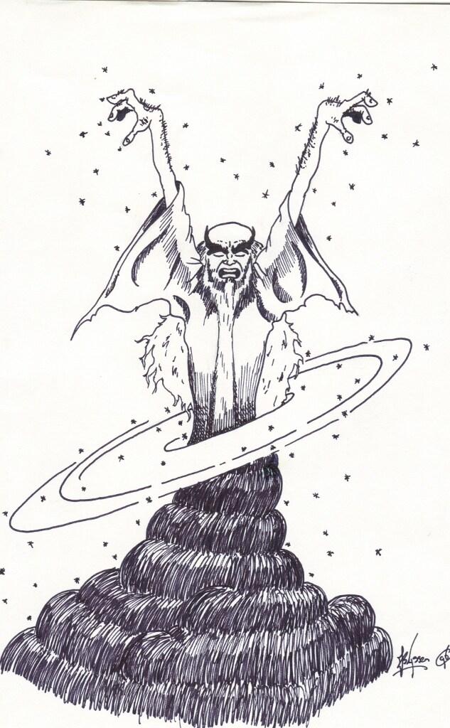 Evil wizzard