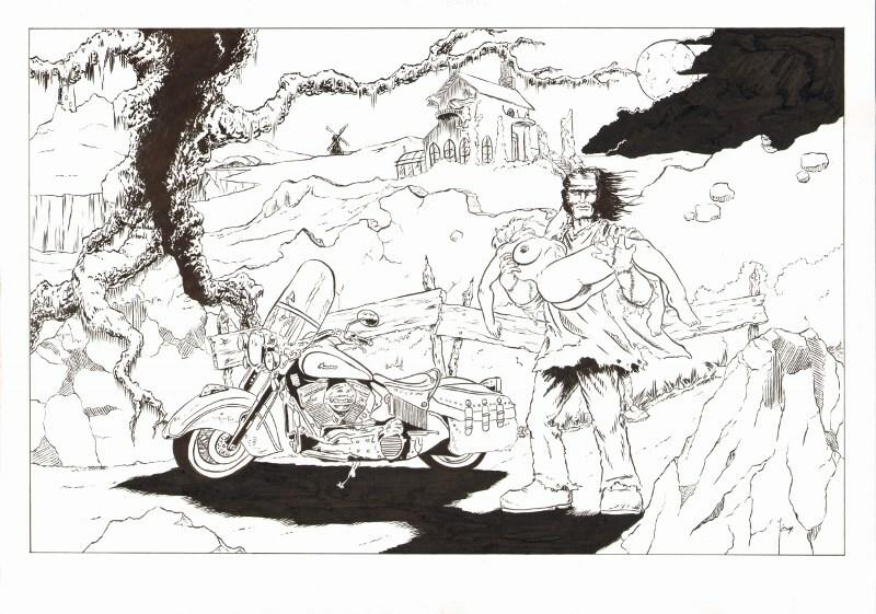 Frankenstein monster's ride