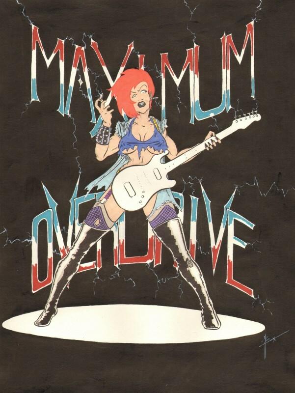 Guitar Girl - Maximum Overdrive