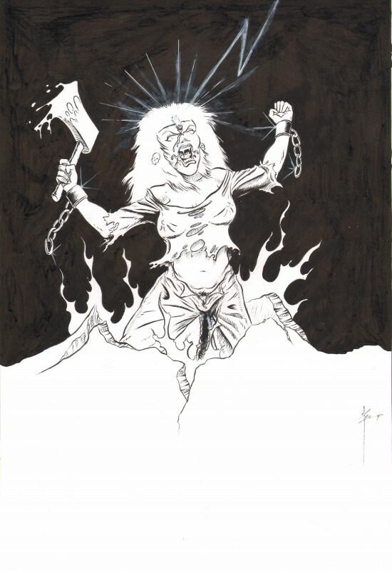 Heavy Metal Rock Chick 1