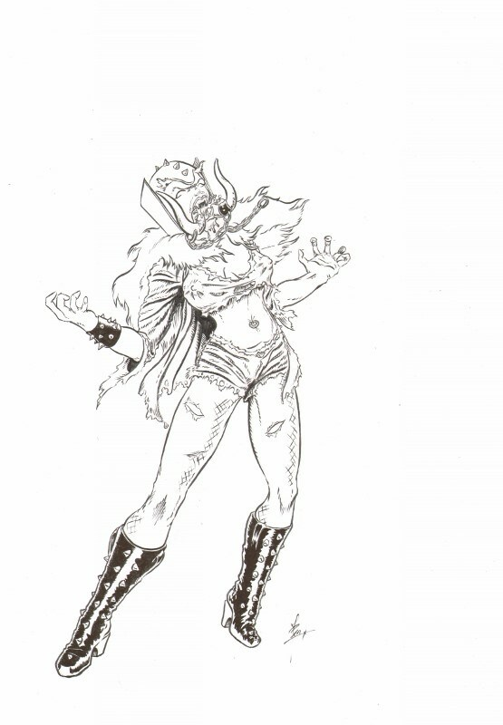 heavy metal rock chick 3