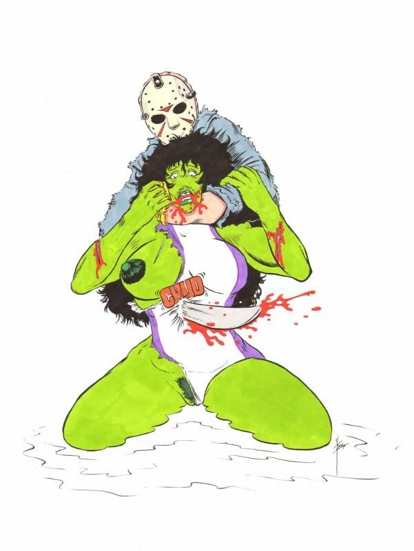 Jason vs She-hulk