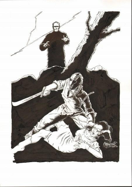 Jason vs the Frankenstein monsters