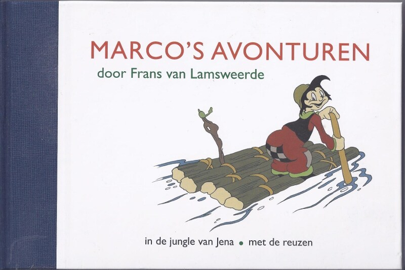 Coverontwerp voor Marco's avonturen