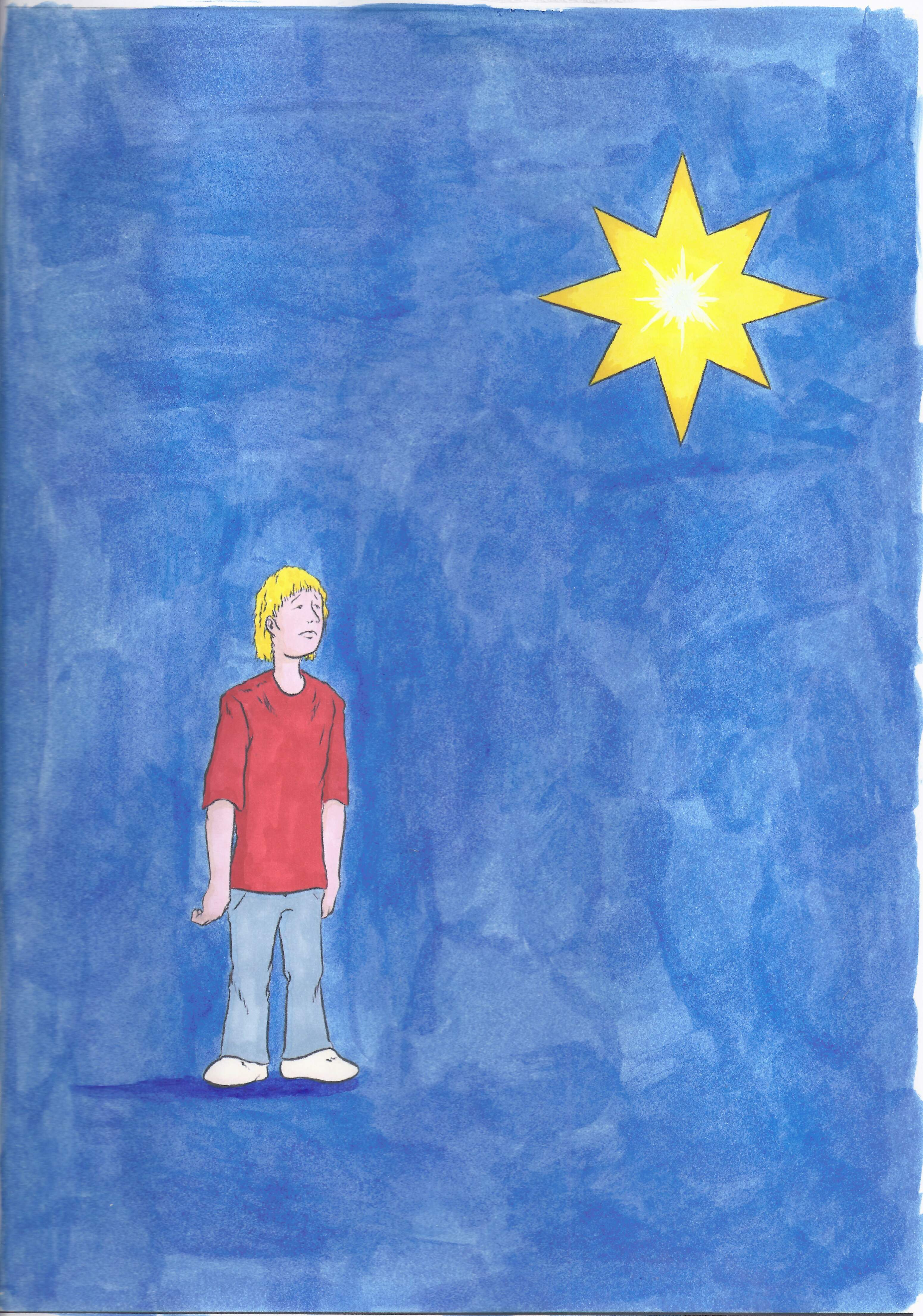 Mijn vader is een ster cover kleur studio nijssen - Een ster in mijn cabine ...