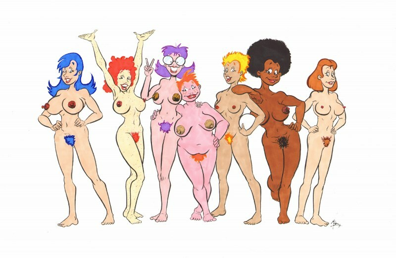 More naked friends
