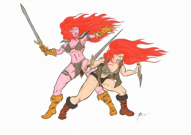Red Sonja & Roodhaar