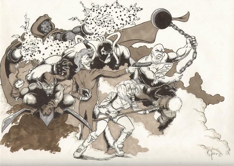 The Super-Villain Dreamteam