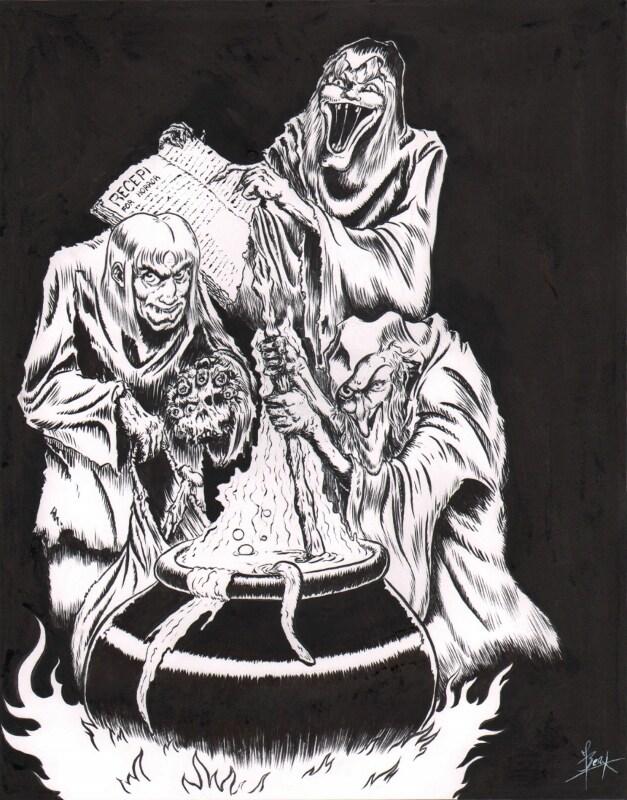 De Storytellers van EC Comics