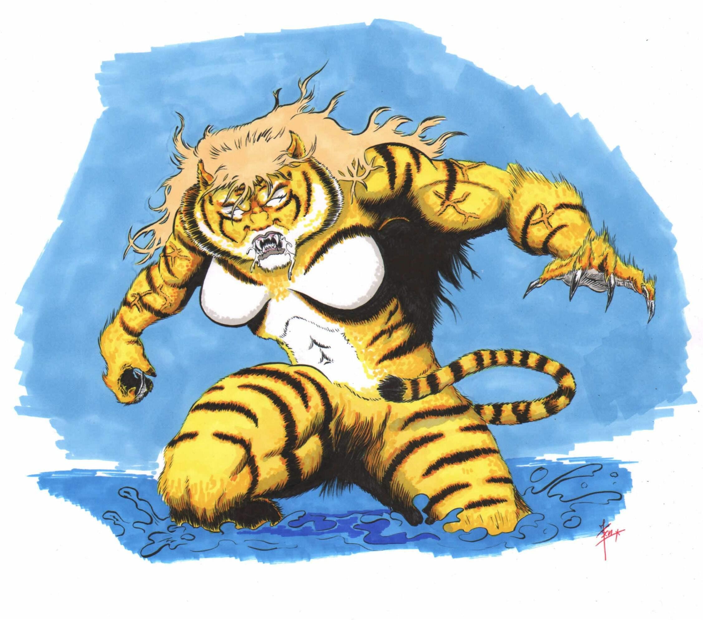 T'shara the Tigress