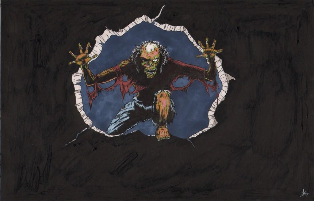 Zombie coming thru